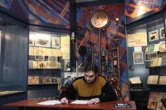 Творческий вечер Александра Карасёва в музее-квартире М.М. Зощенко